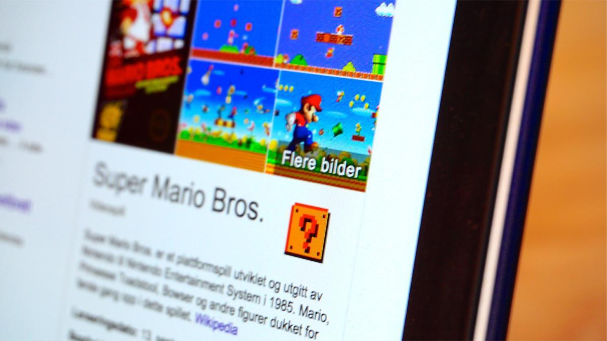 Slik feiret Google Super Marios 30-årsjubileum