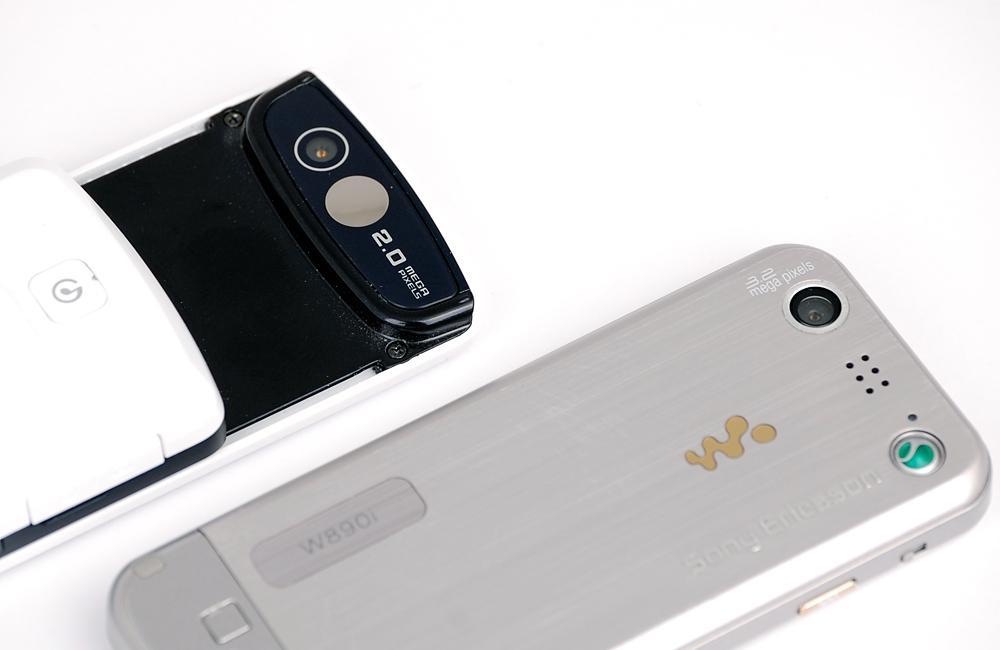 Samsung F330 (t.v.) er dårligst på spilletid, mens Sony Ericsson W890i er dårligst på lydkvalitet.