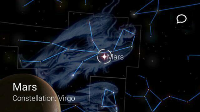 StarChart gir deg informasjon om alle de lysende prikene du har over deg.