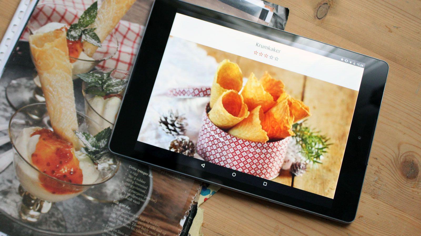 Skjermformatet er 4:3, det samme som på iPad.Foto: Espen Irwing Swang, Tek.no