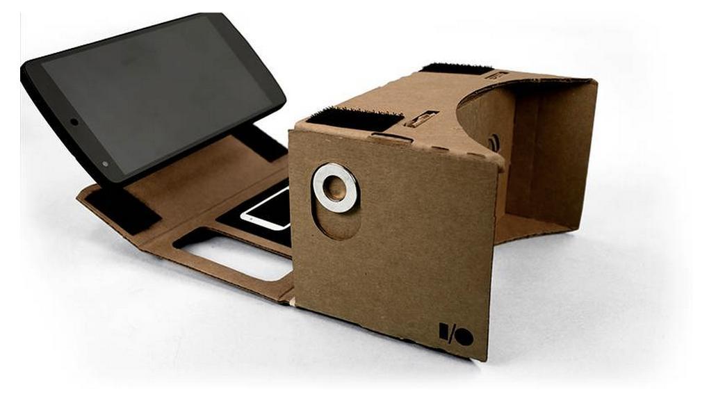 Google Cardboard skal du altså lage selv.Foto: Google