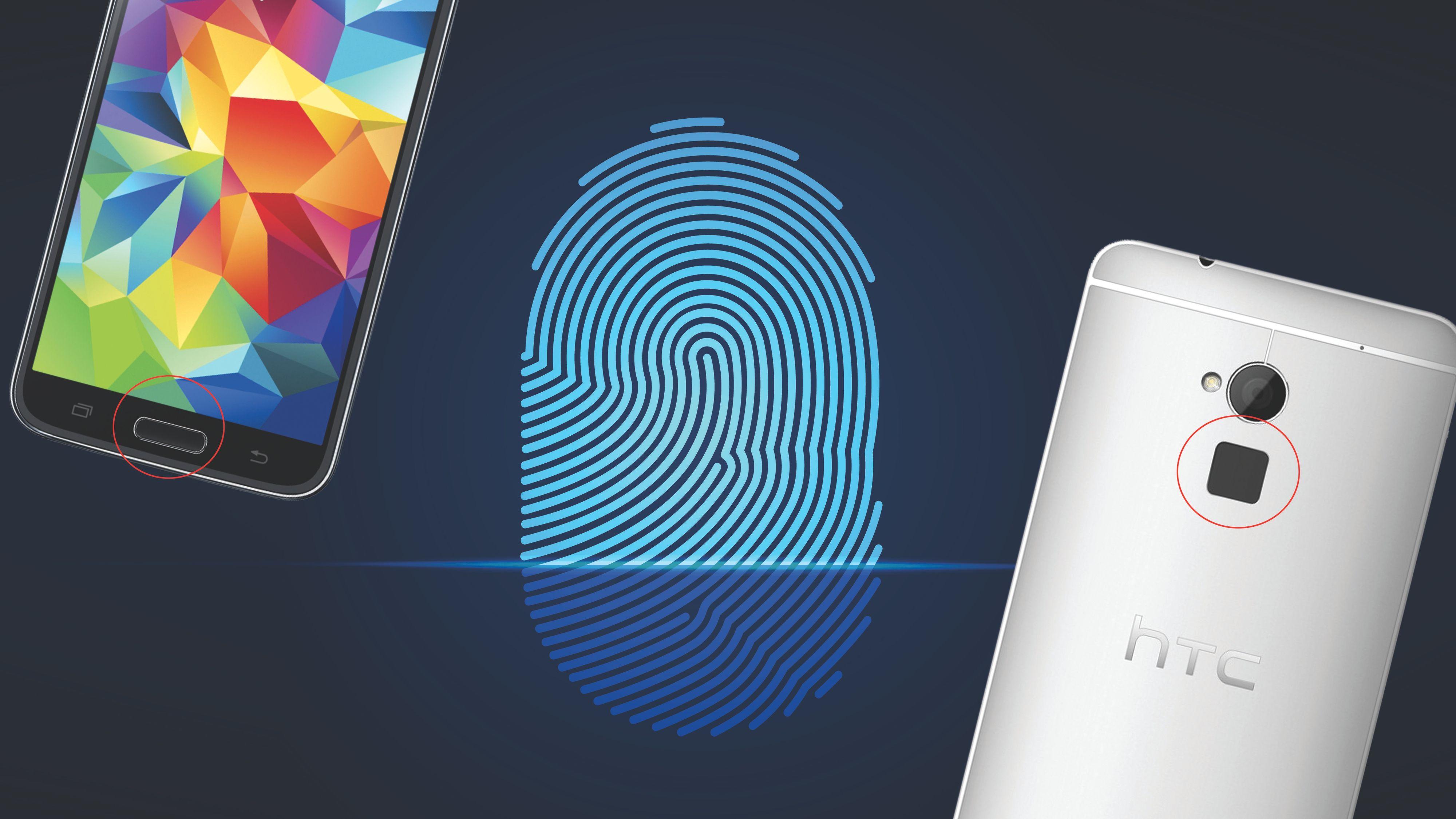 Hackere stjal fingeravtrykk rett fra mobilsensoren