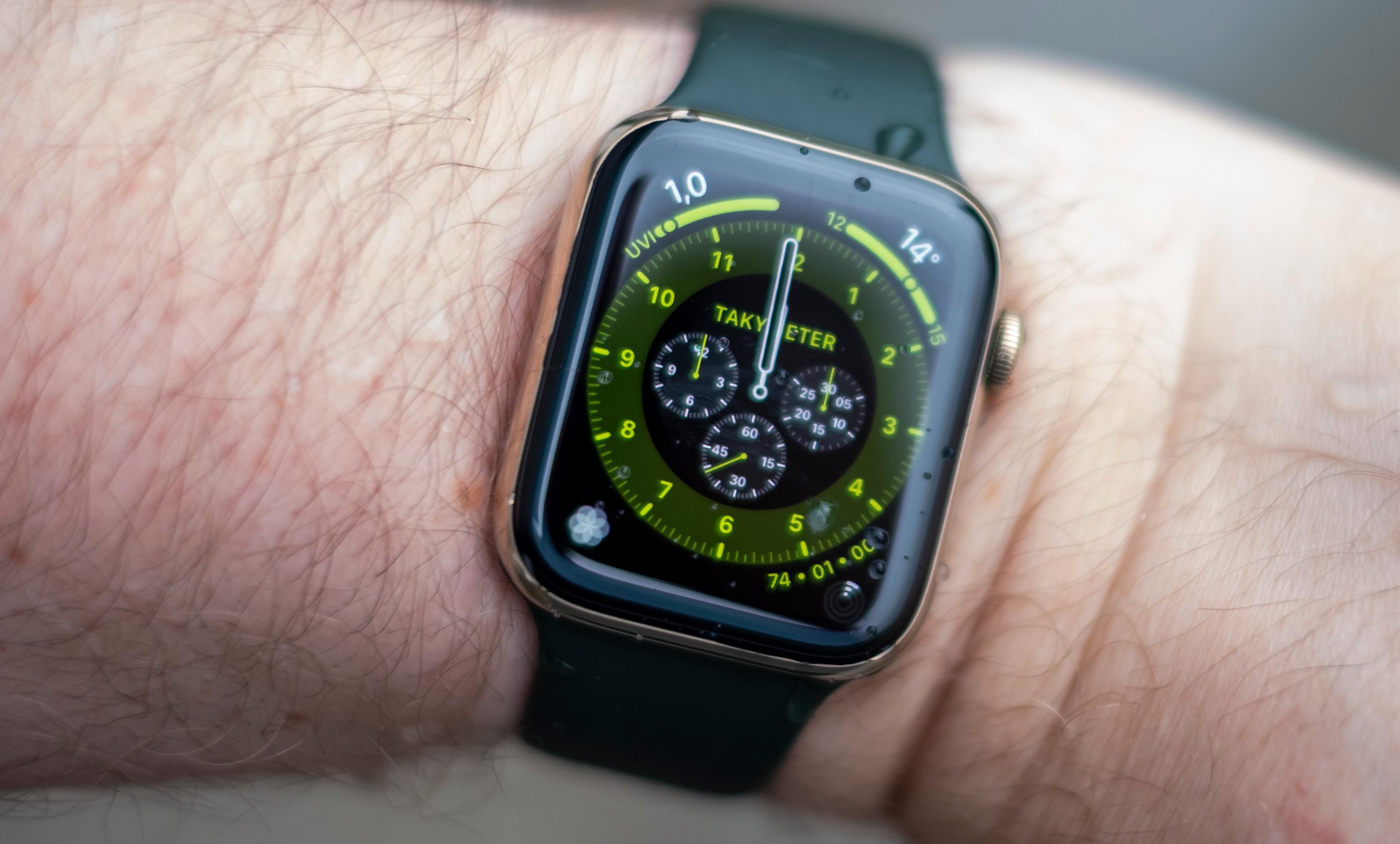 En av mange nye urskiver i WatchOS 7. Disse kan du imidlertid bruke også om du har eldre Apple Watch-modeller.