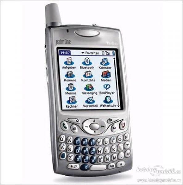 Palm Treo 650 - en av de første PDA-ene du kunne ringe med.
