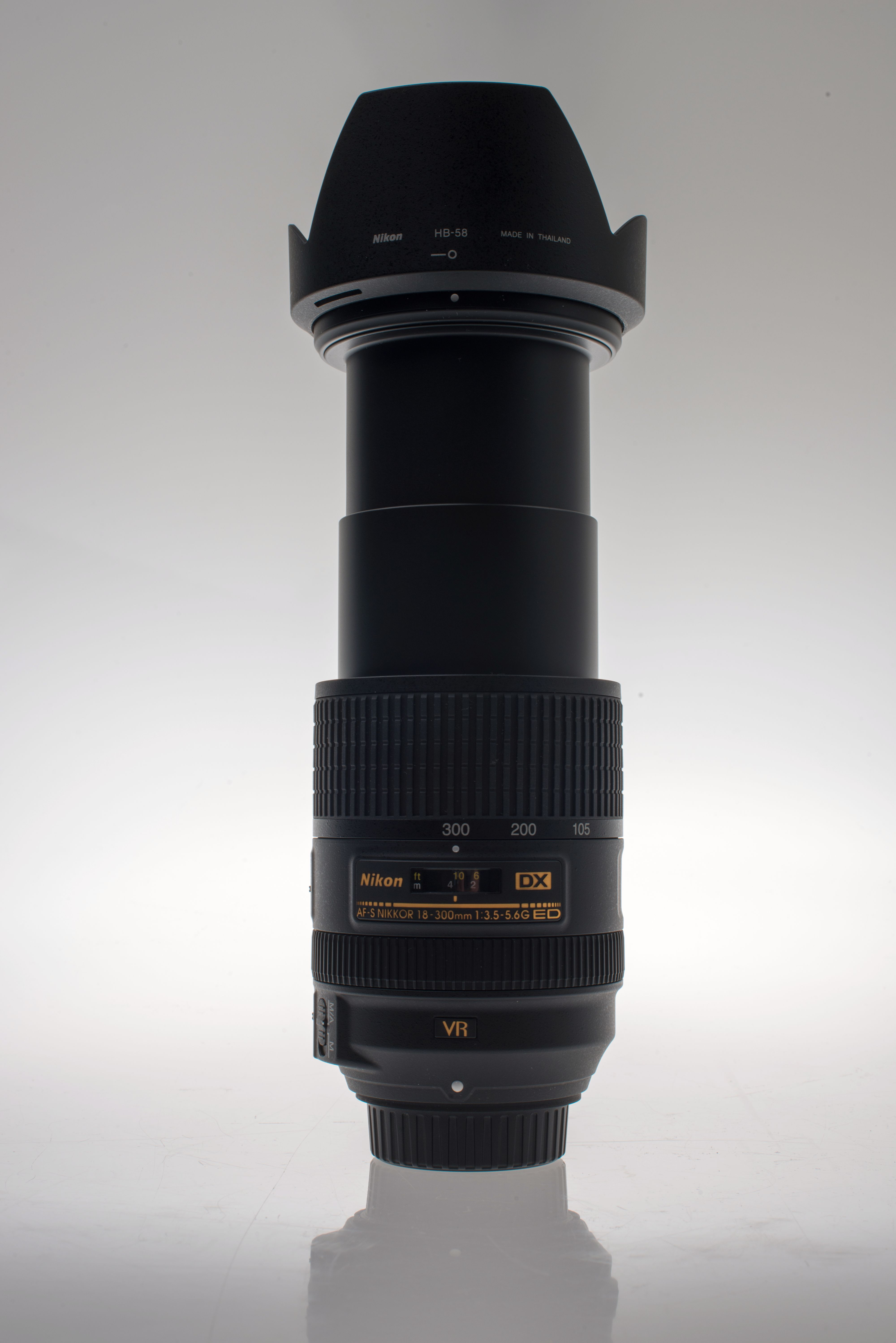 18 - 300 mm på 300 mm.Foto: Eivind Hauger, Akam.no