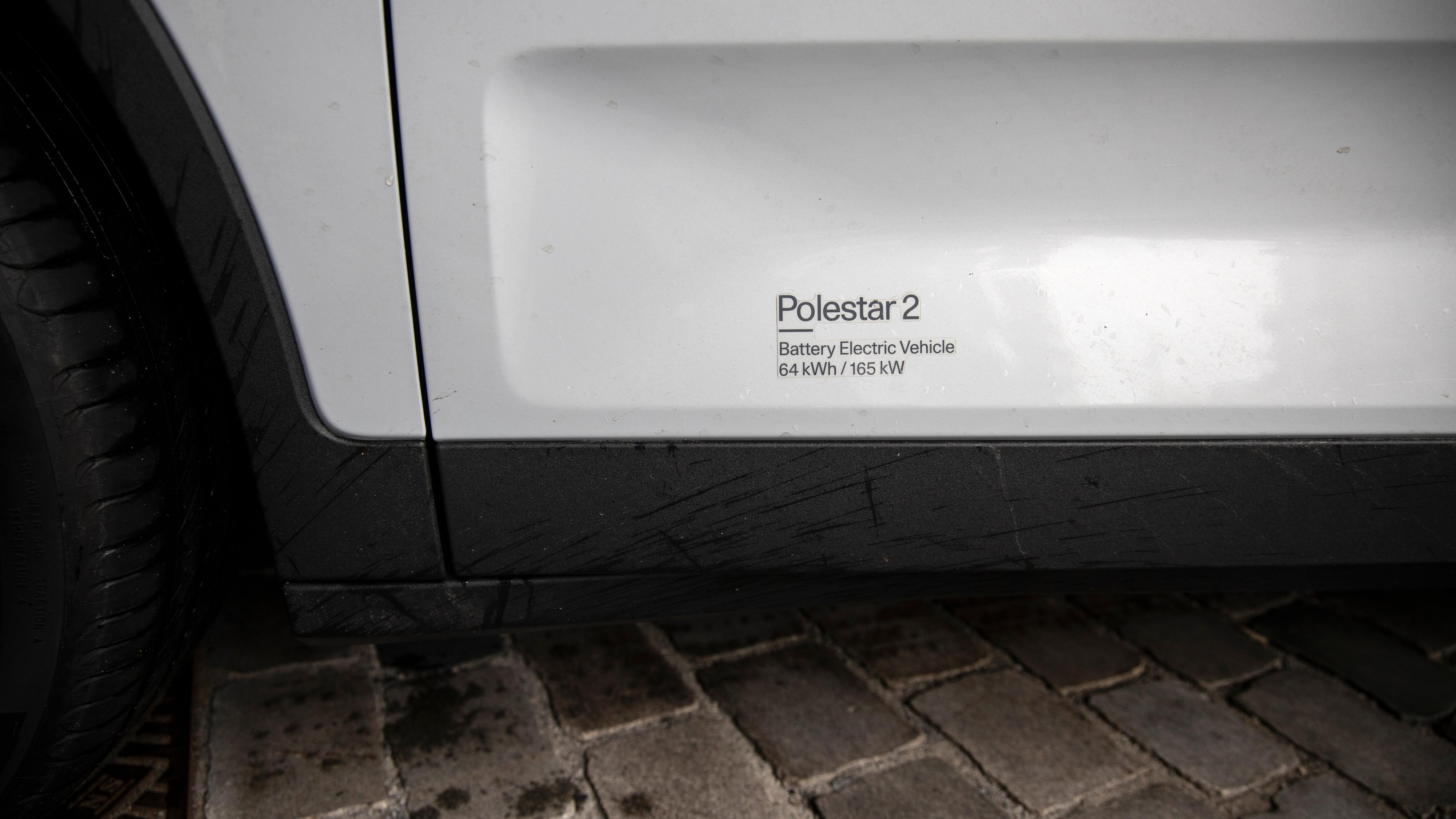 165 kW gjenstår når én av de to motorene i Polestar 2 er kuttet.