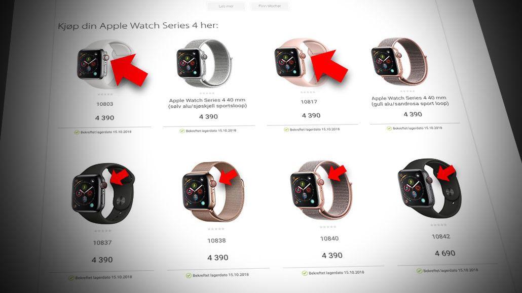 Full forvirring rundt norsk lansering av Apple Watch med 4G