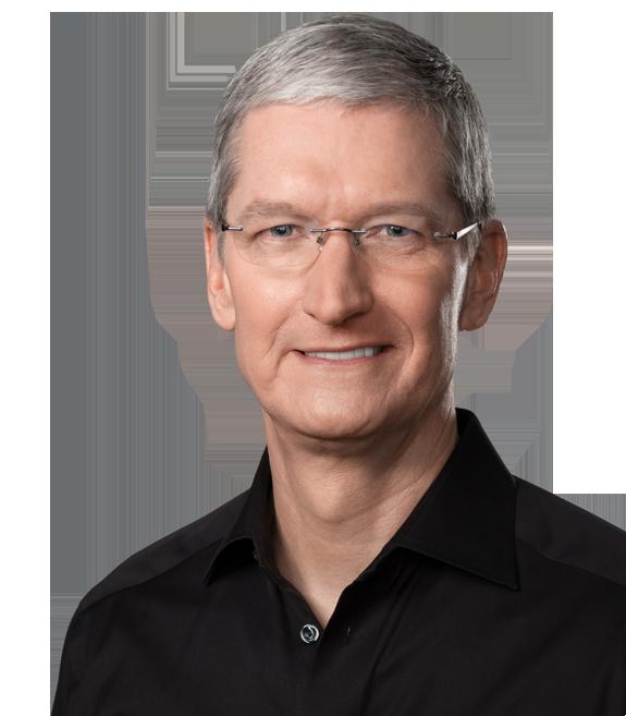 Apple-sjef Tim Cook dusjer visstnok med sin Apple Watch hver eneste dag. Foto: Apple