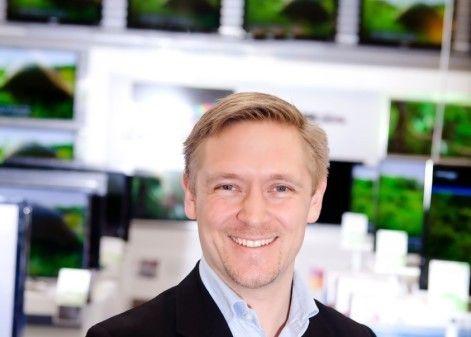 Andreas Westergaard i Elkjøp. Foto: Elkjøp
