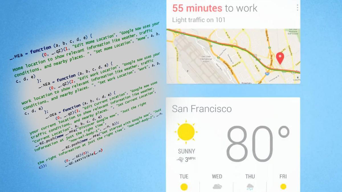 Den intelligente assistenttjenesten Google Now ser ut til å være på vei til vanlige PC-er.Foto: Google Operating System / Google