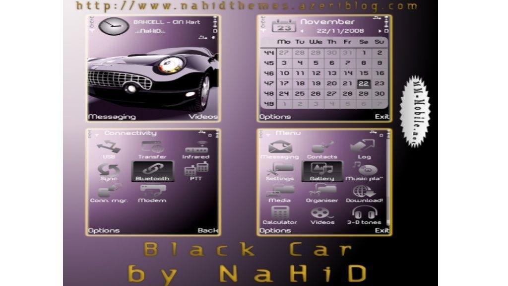 Black Car mobiltema