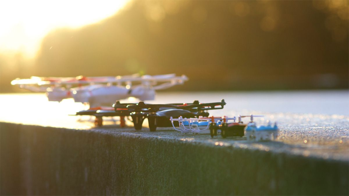 6 droner settes på testbenken. Hvilke kommer seirende ut?