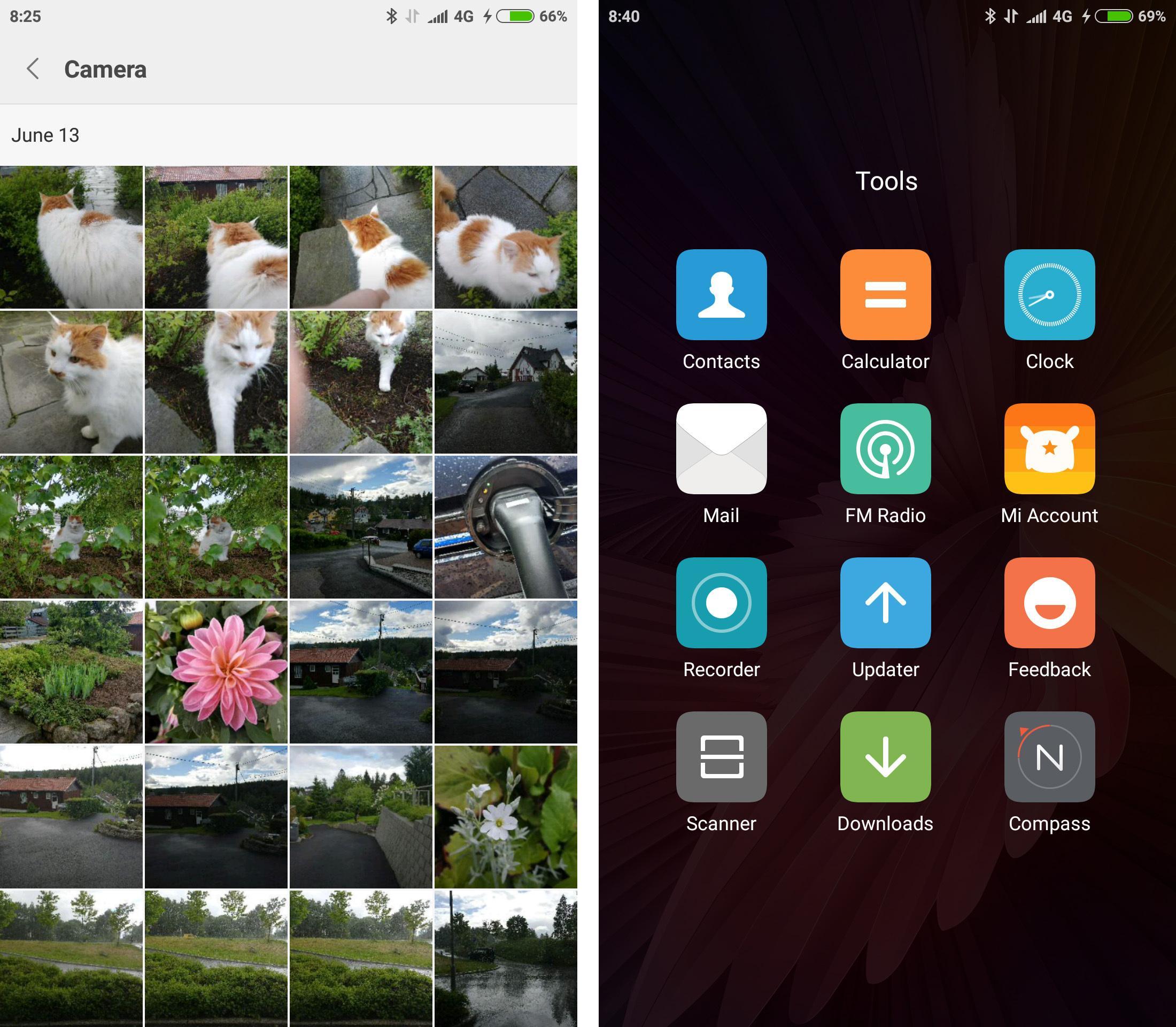 Xiaomi har lagt ved en rekke egne apper på telefonen, men det er heldigvis fint lite her som kommer fra andre, ettersom tredjeparts apper på telefoner ofte er reklamefjas som er mer til irritasjon enn til hjelp.