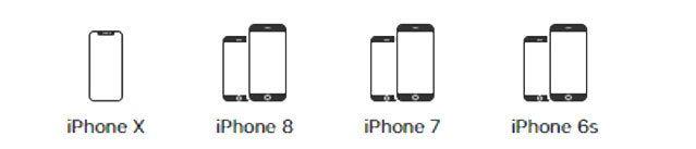Disse mobilene har Force Touch-skjerm.