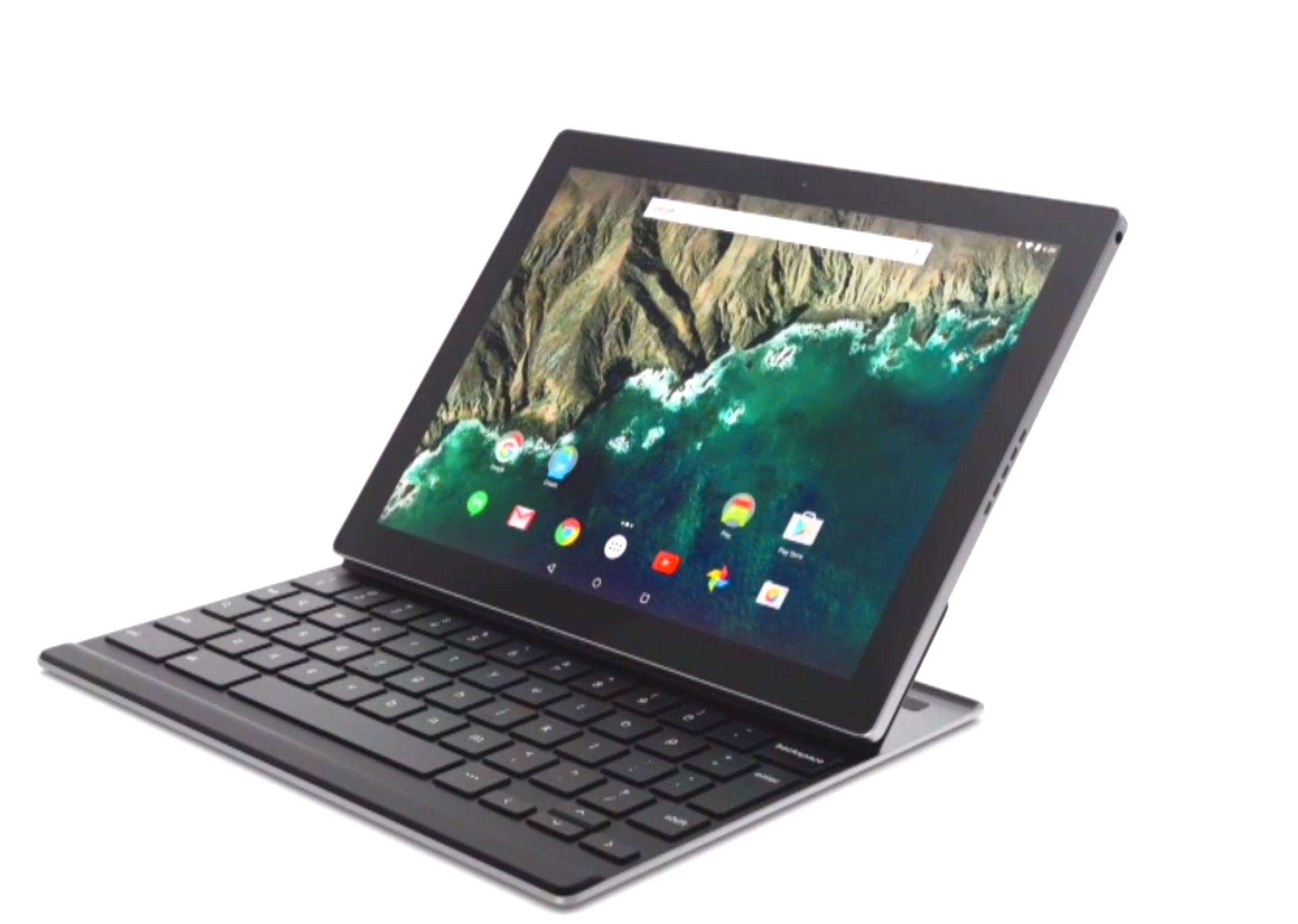 Pixel C skal kjøre Googles nye Android-versjon, Android 6.0 Marshmallow. Foto: Google/skjermdump