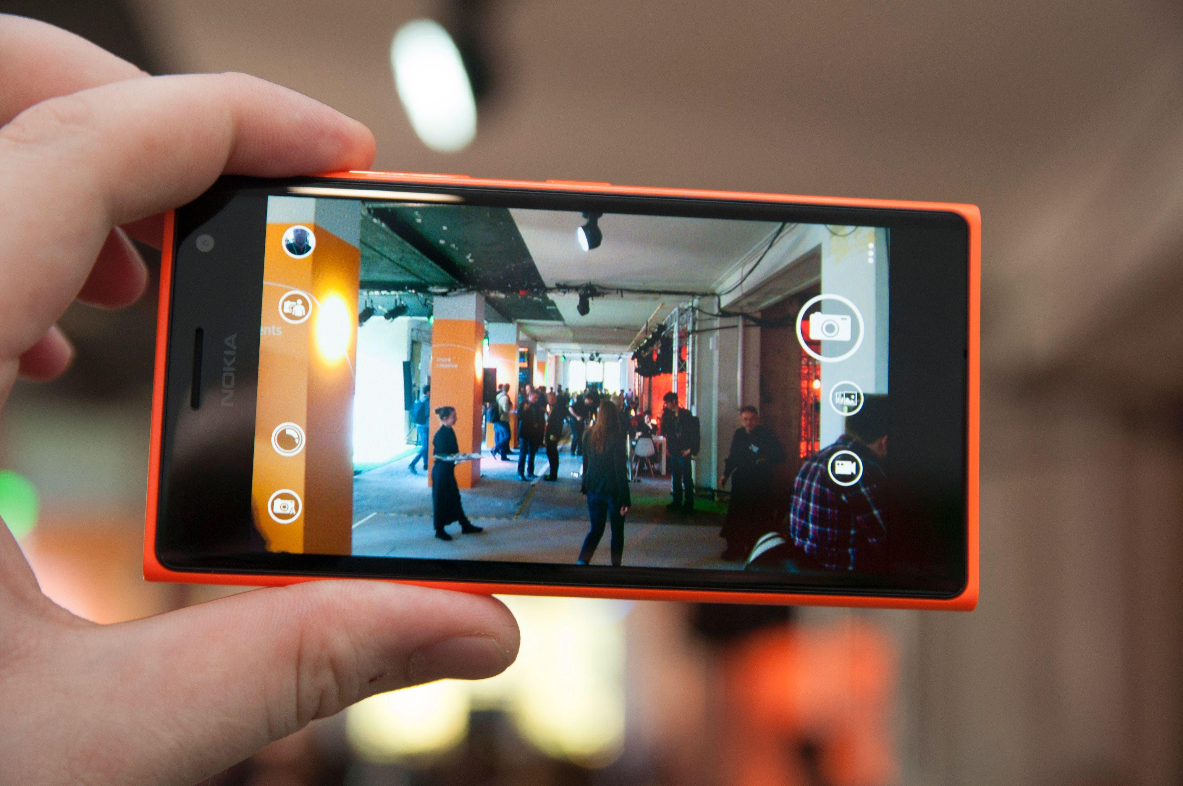 Lumia 735 tar bilder i 6,7 megapikslers oppløsning.