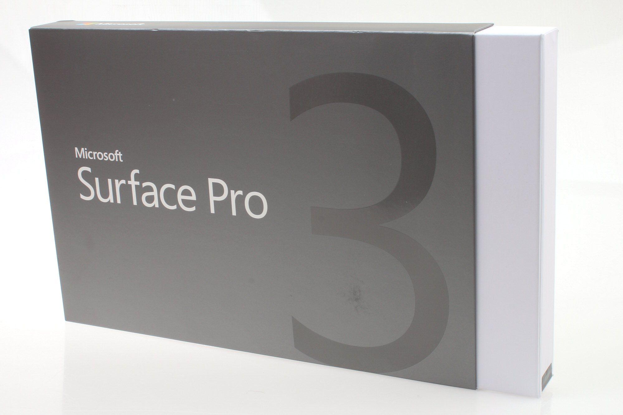 Microsoft Surface Pro 3 i innpakket tilstand.Foto: Vegar Jansen, Hardware.no