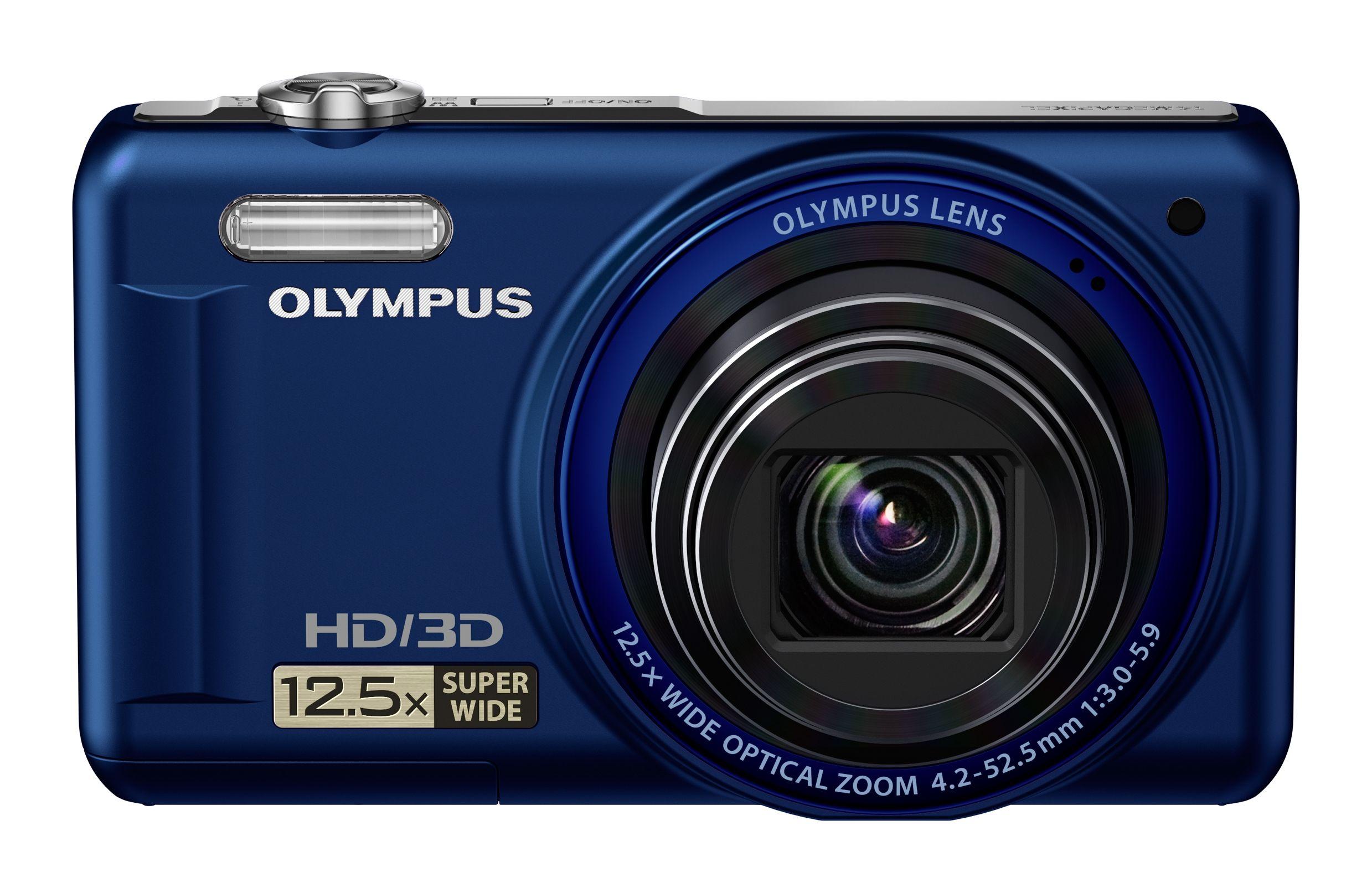 Olympus VR-330 har 3D-funksjon som gjør at den skiller seg fra VR-320.