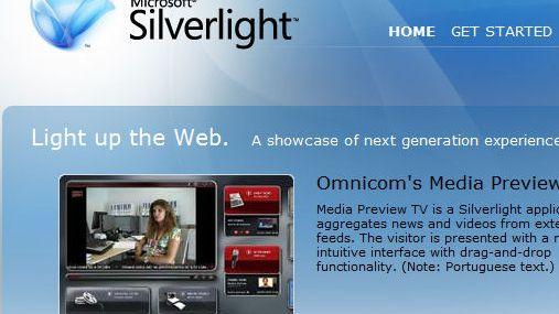 Silverlight 1.0 lansert