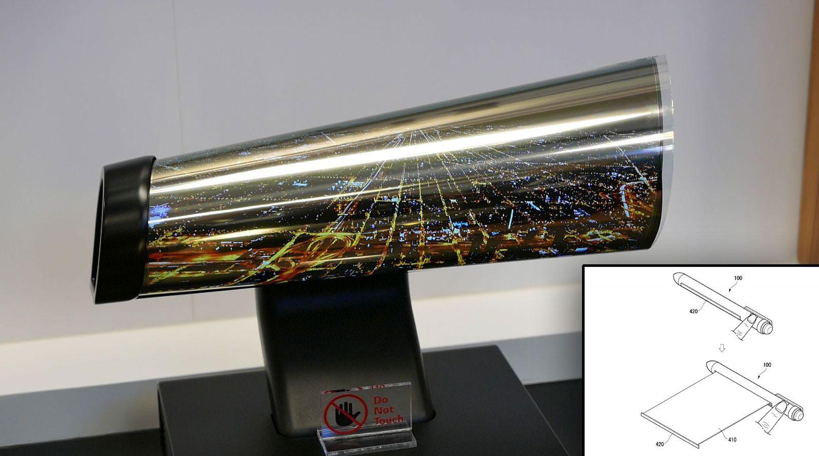 LG har allerede vist frem bøyelige skjermer før, som prototyper.