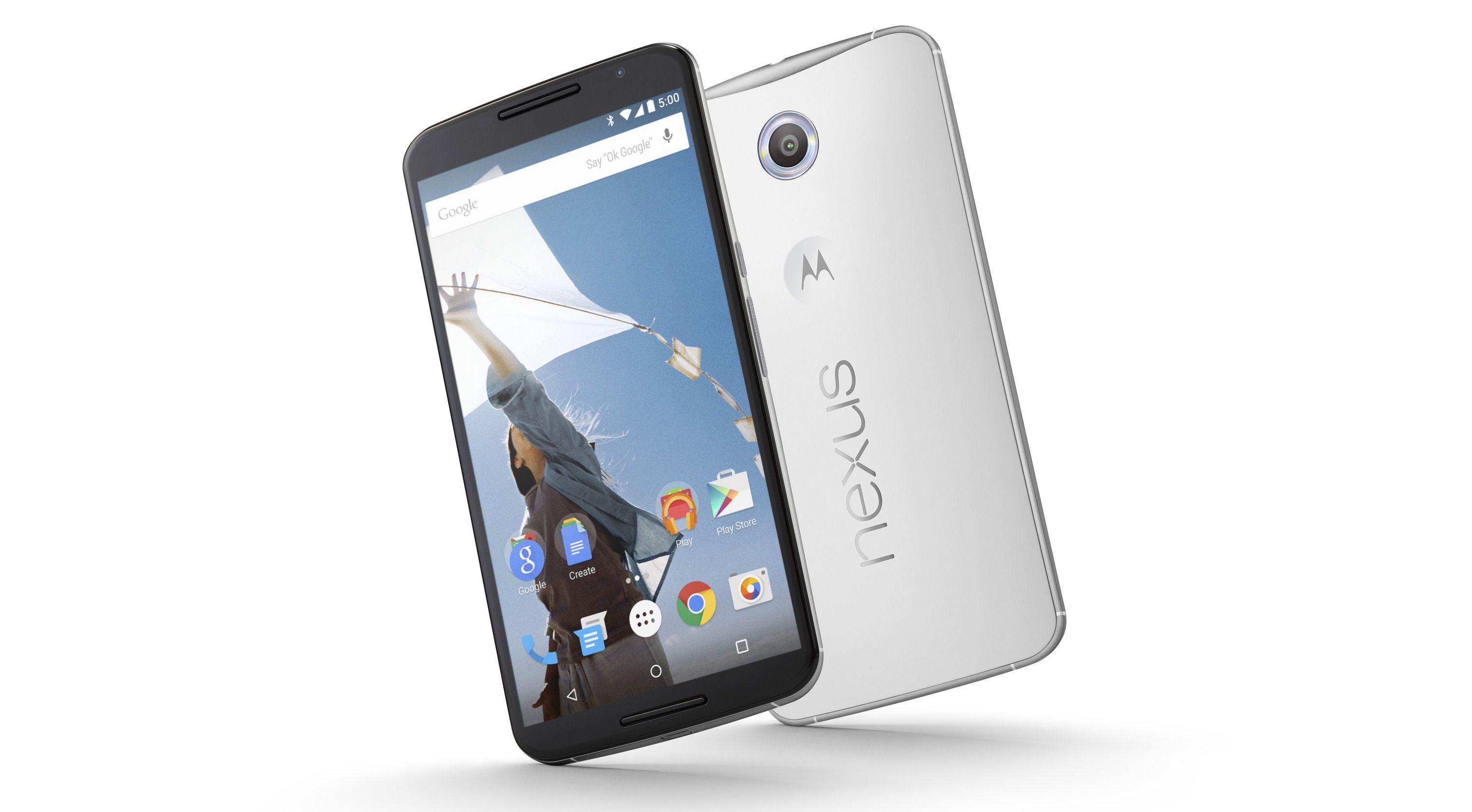 Nexus 6 fikk en 6 tommer stor skjerm. At en eventuell «Nexus 7» får samme karakteristikk er heller usannsynlig. Foto: Google