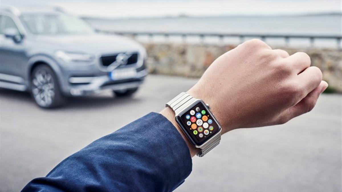 Nå kan du styre Volvoen din med klokka