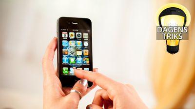 Skriv raskere på iPhone