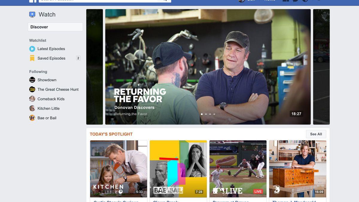 Dette er Facebooks nye videotjeneste som går rett i strupen på YouTube