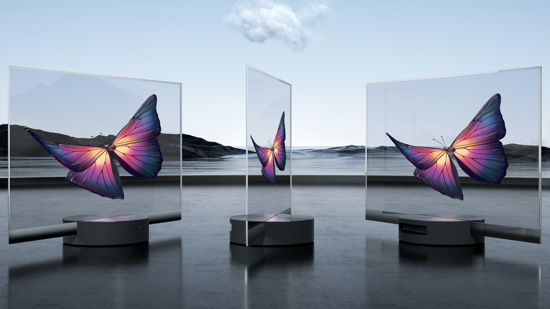 Xiaomis nye TV er helt gjennomsiktig
