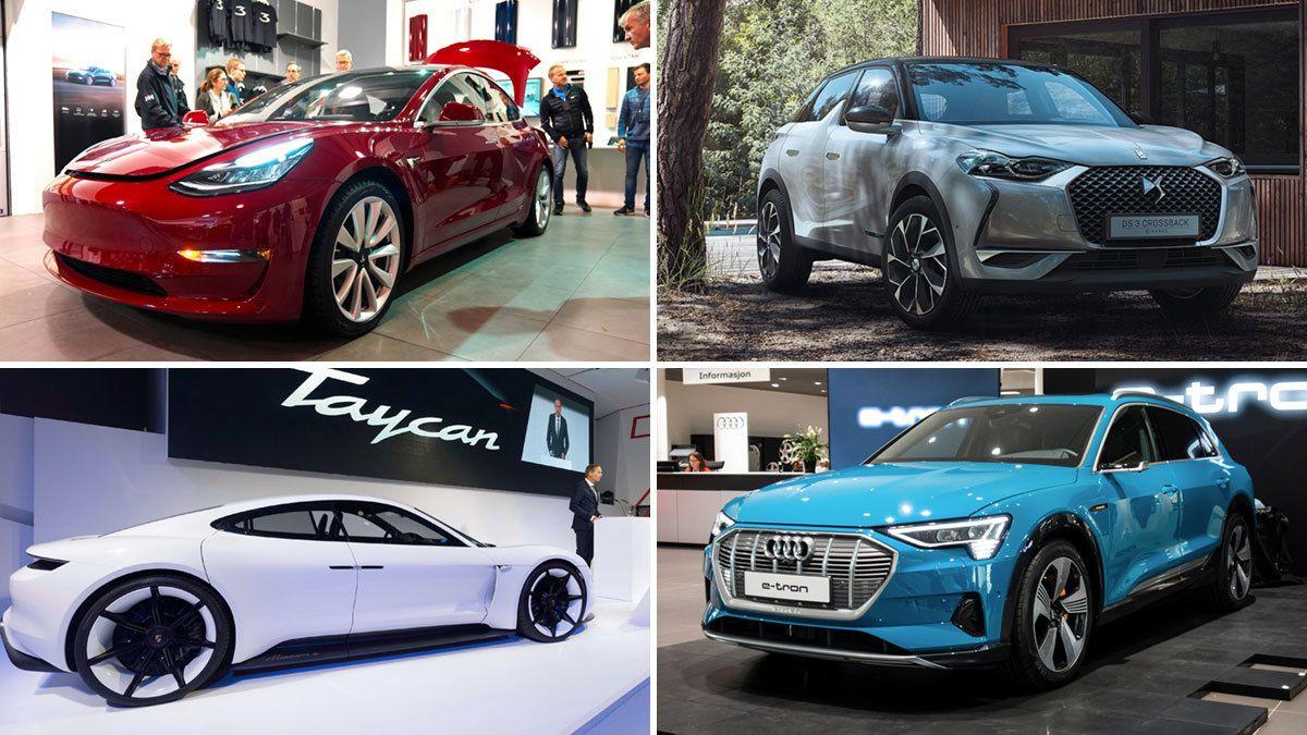 Dette er elbilene som kommer i 2019