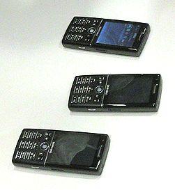 Samsung i550 har GPS og super-3G. (Foto: Marius Valle)