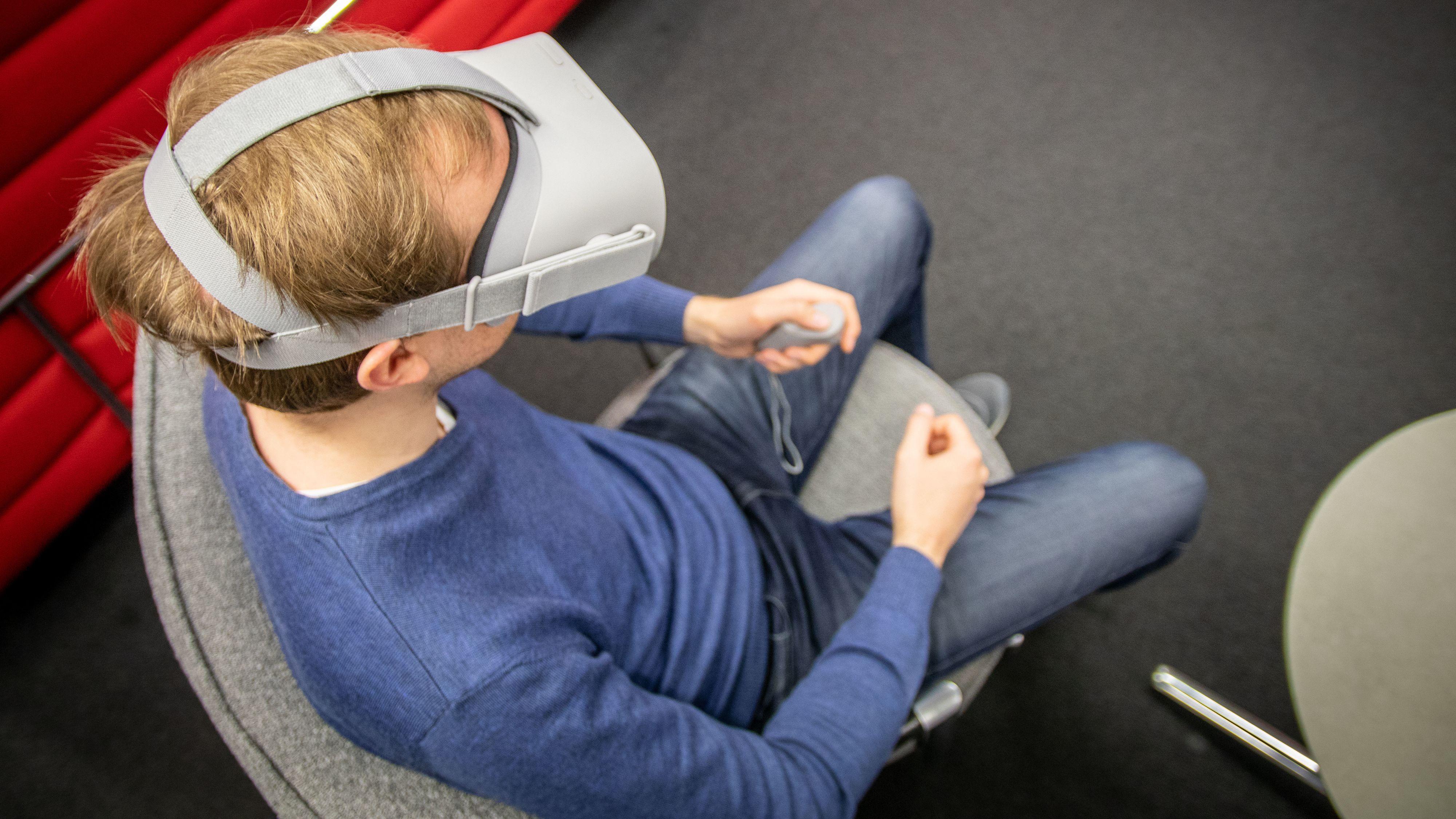 Skjermstrømming kommer til Oculus Go