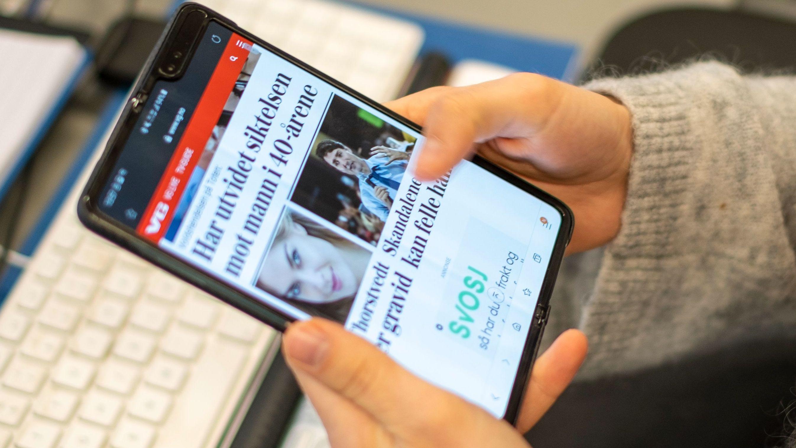 Google jobber med brettbar telefon