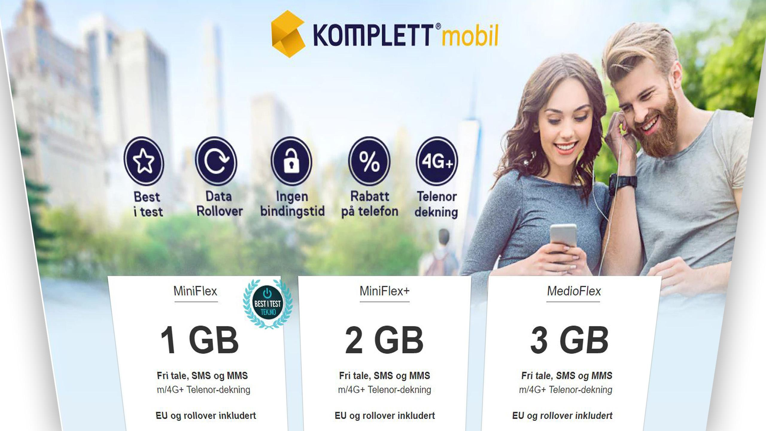 Komplett Mobil gir deg nå fri roaming også i USA og Thailand