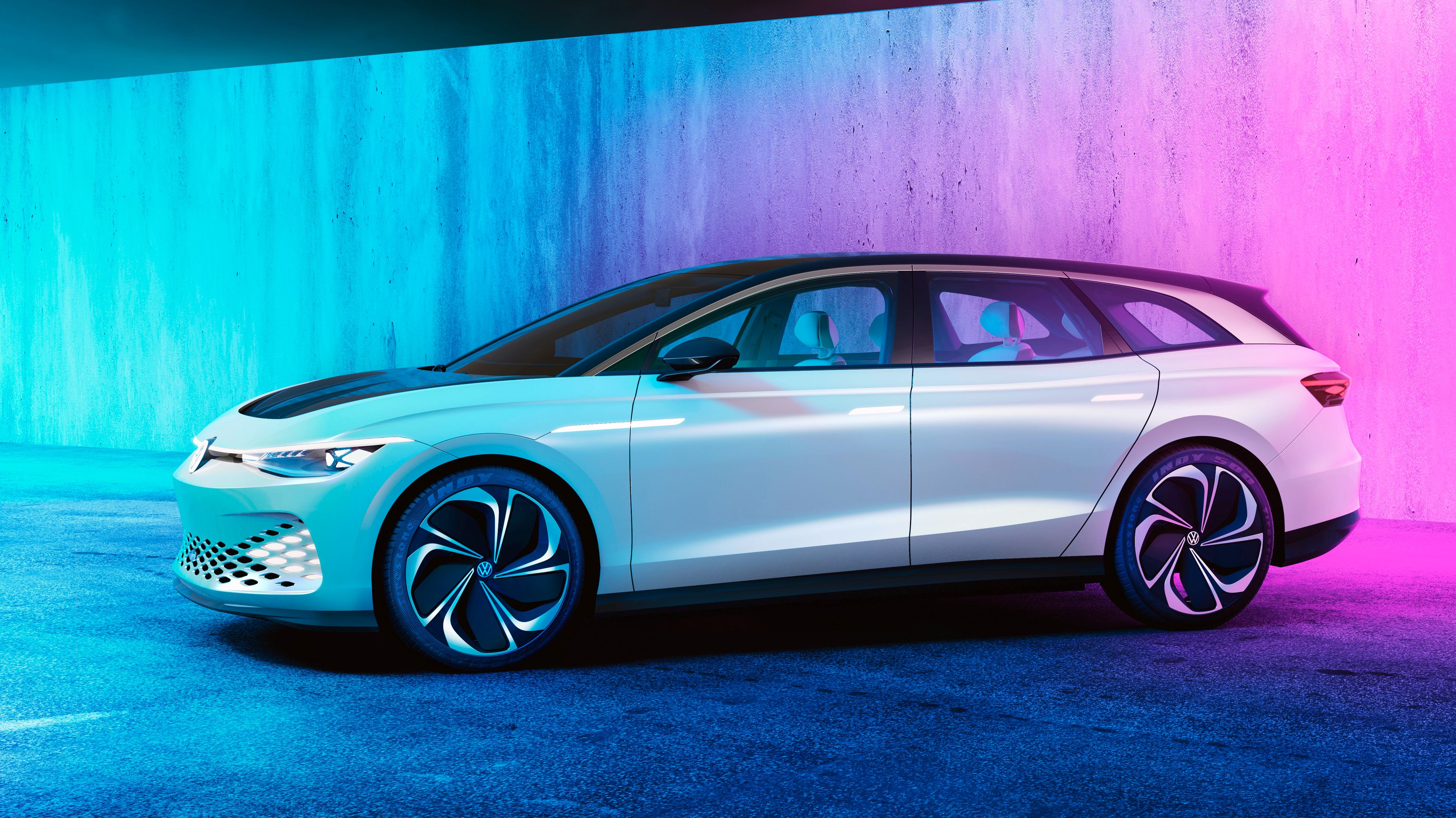 Volkswagen viser frem sin el-stasjonsvogn, lover «perfekt» aerodynamikk