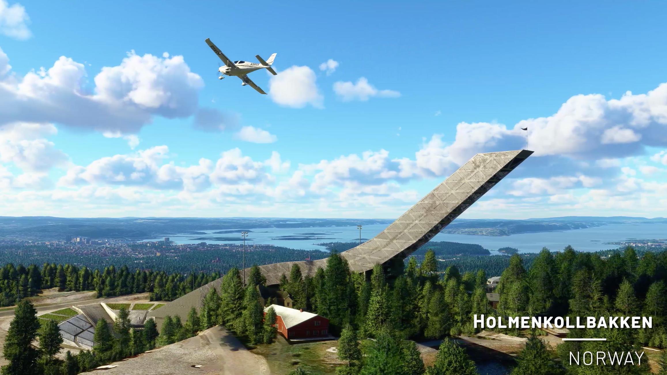 Holmenkollbakken stor først på lista til sjefen når Norge skulle oppgraderes.