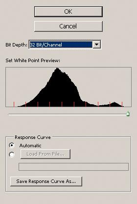 Set White Point Preview gjør det mulig å få sett på hele innholdet i HDR-fila selv om man sitter med en LDR-skjerm. Man må bare ta litt av innholdet av gangen.