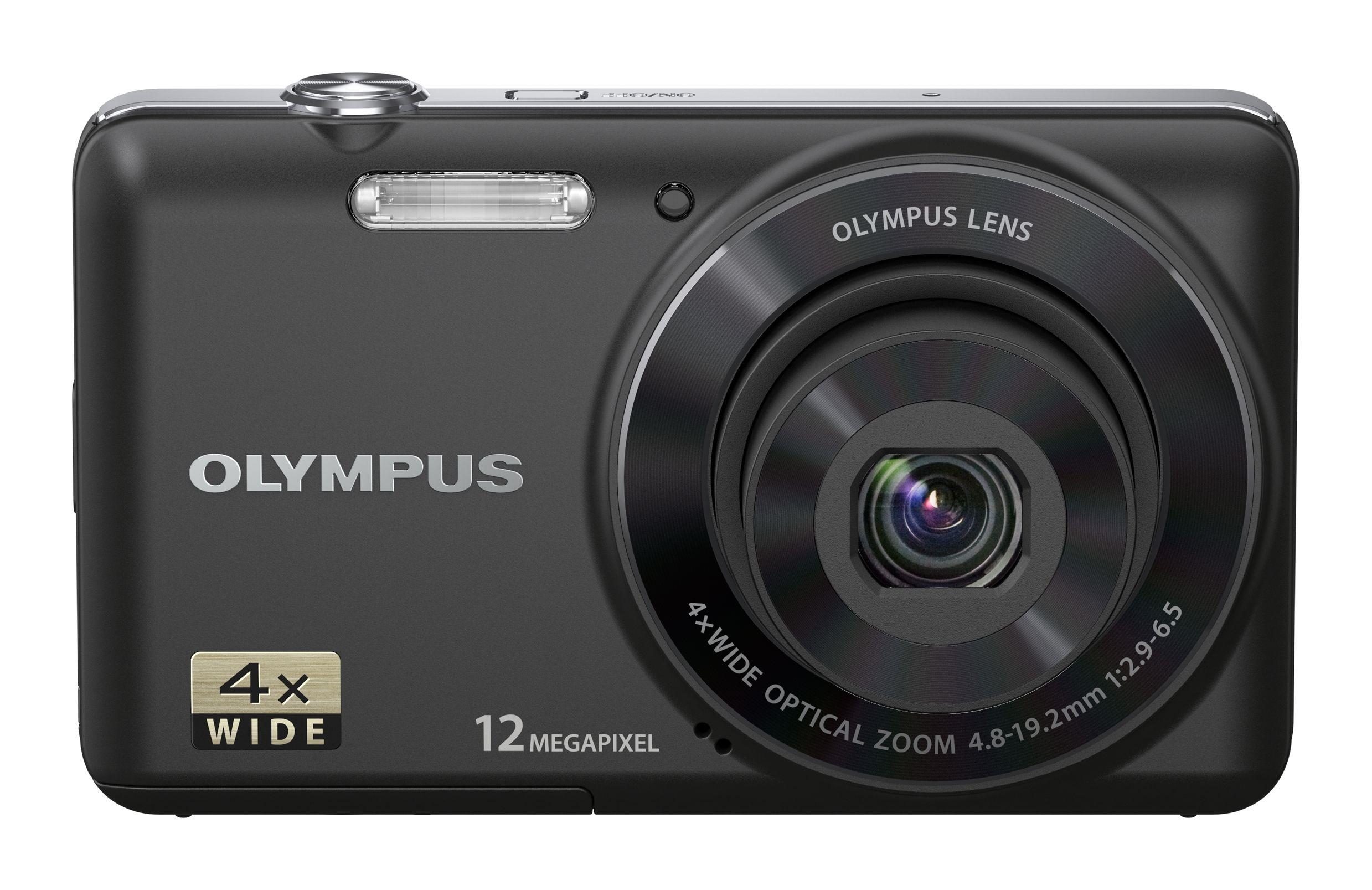 Olympus VG-110 er innstegsmodell, beregnet på de som kjøper sitt første kamera.