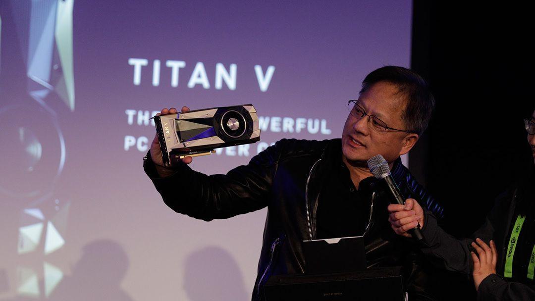 Nvidia Titan V skal være verdens kraftigste GPU