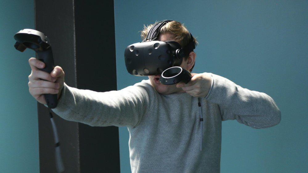 HTC Vive byr på solid innlevelse.