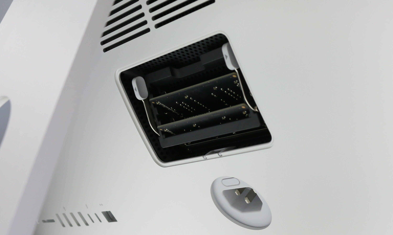Testeksemplaret kom utstyrt med 2 x 4 GB RAM og plass til ytterligere to minnemoduler.