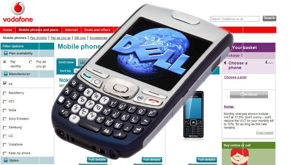 "Vodafone ""lekket"" Dell-mobil"