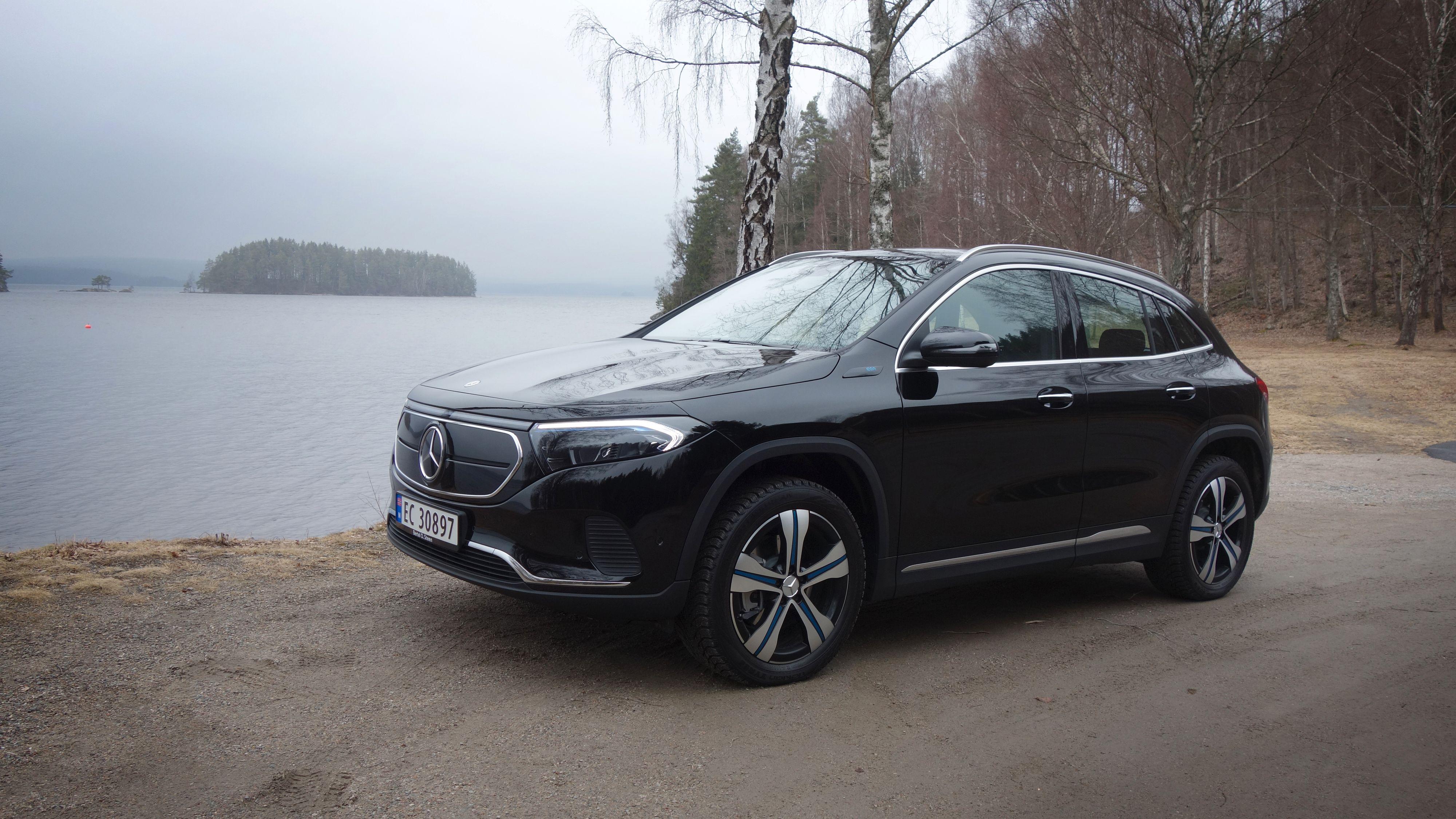 Mercedes-Benz EQA er Mercedes' elbilsvar på GLA-klassen. Vi tok den med på rekkeviddetest.