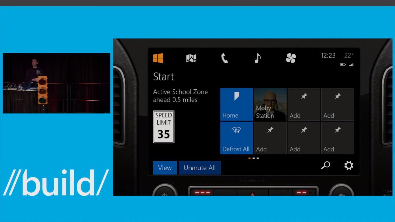 Microsoft vil la deg bruke stemmeassistenten Cortana på frontvinduet i bilen
