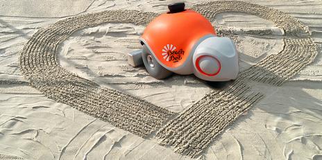 BeacBot er liten og nusselig. Foto: ETH Zürich/Disney