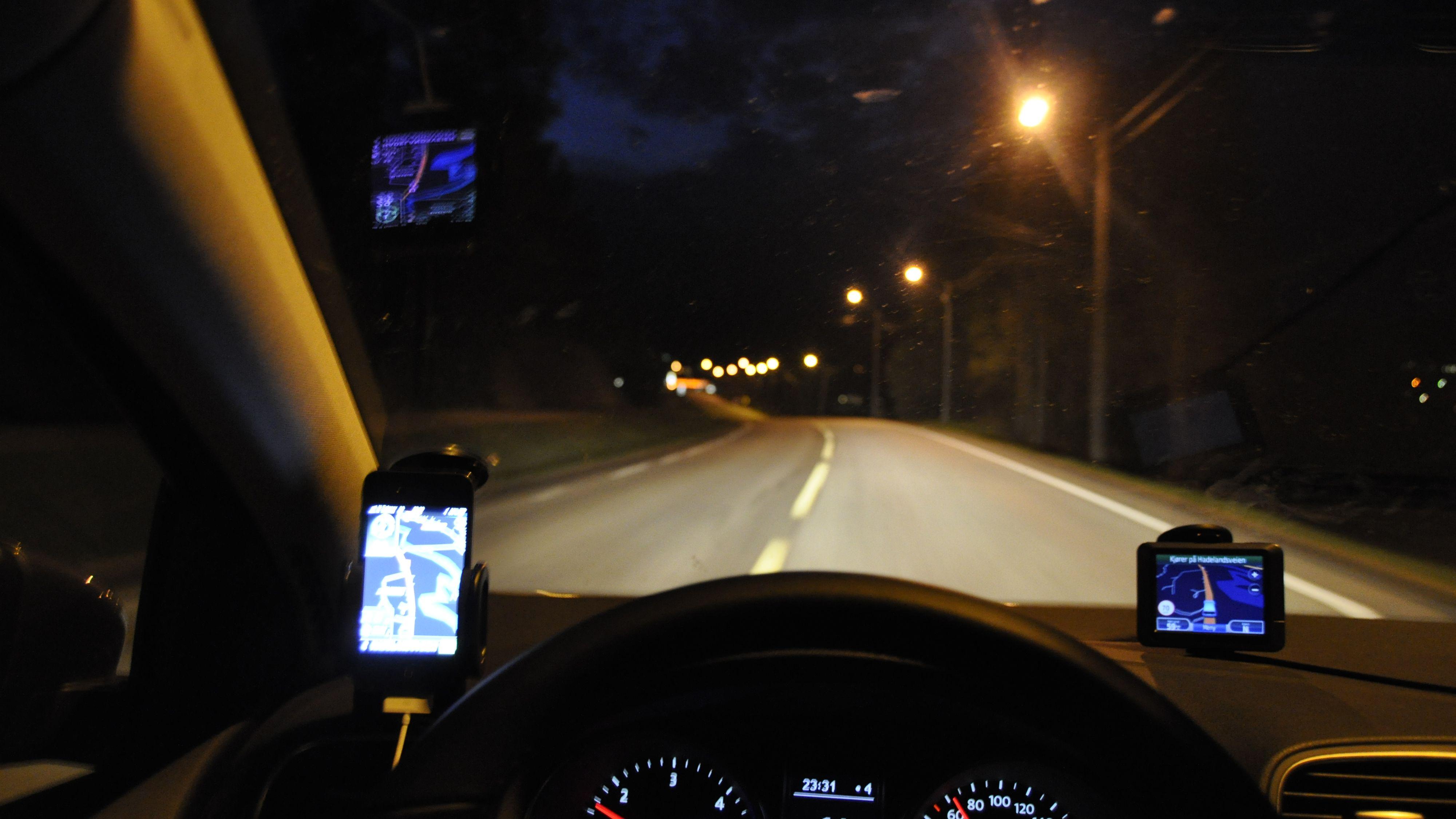 Apps til bilnavigasjon