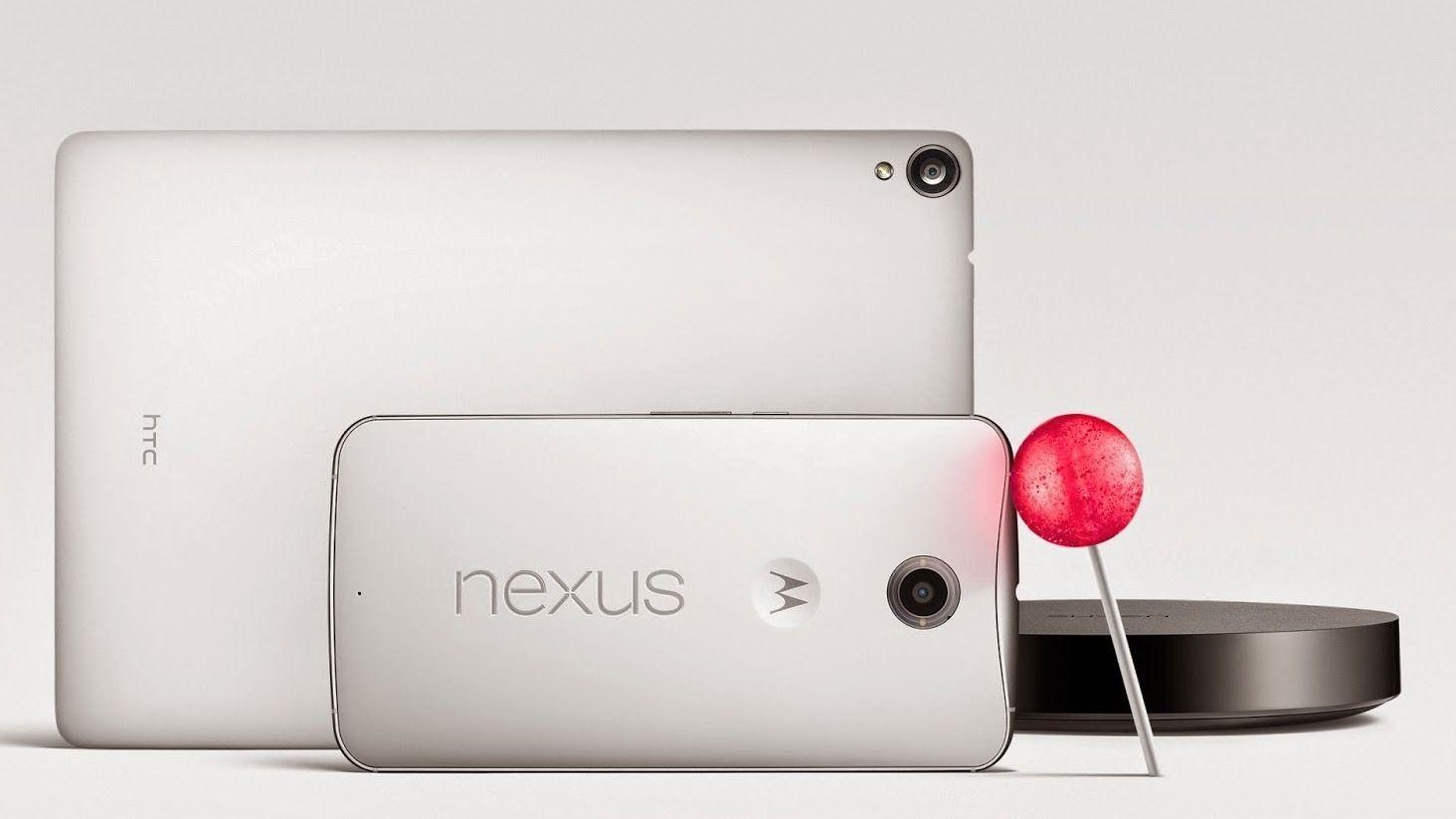 Google lanserte Android 5.0 og to nye Nexus-er