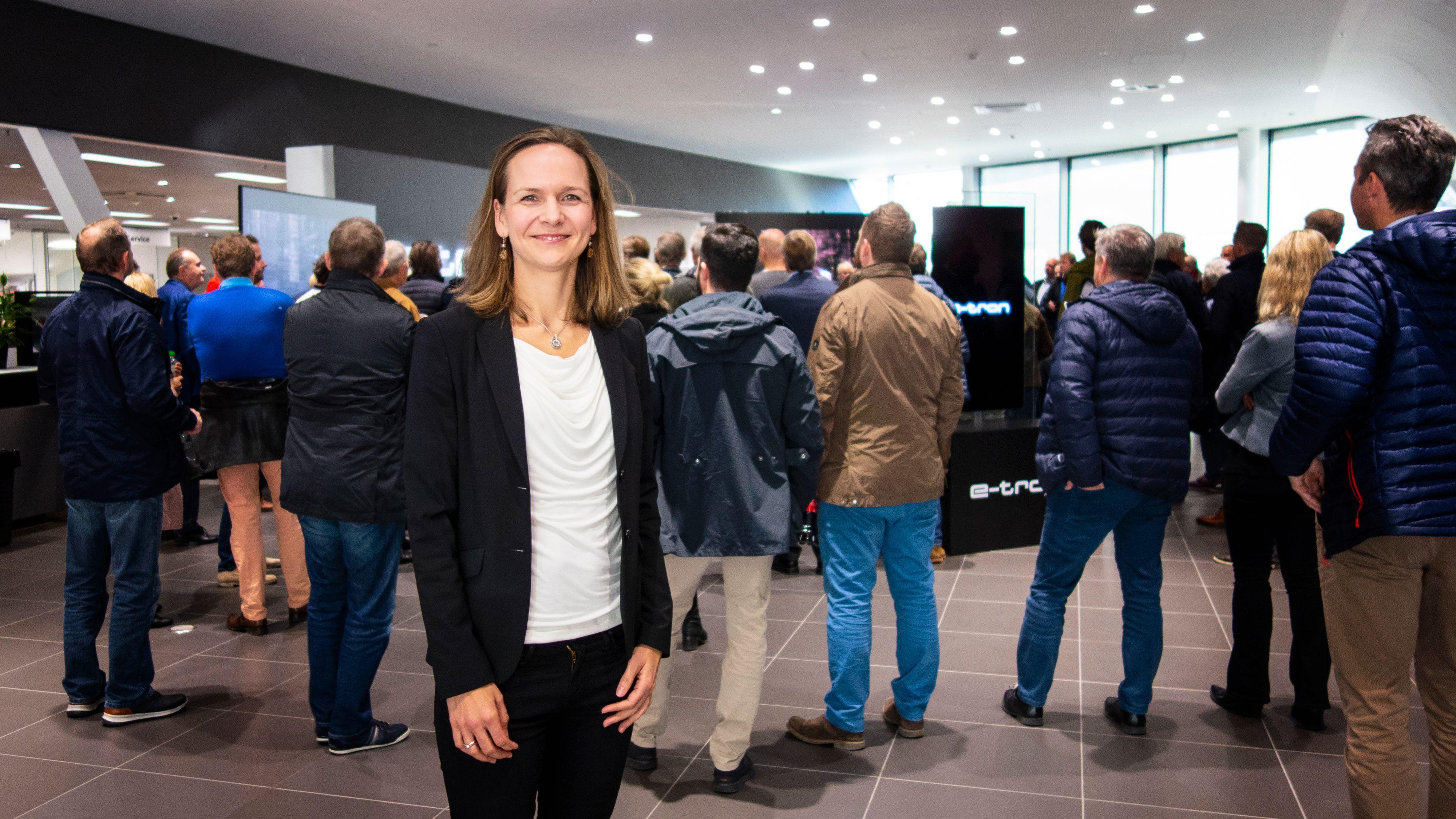 Elin Sinervo er direktør for det største bilmerket i Norge så langt i år, nemlig Audi.