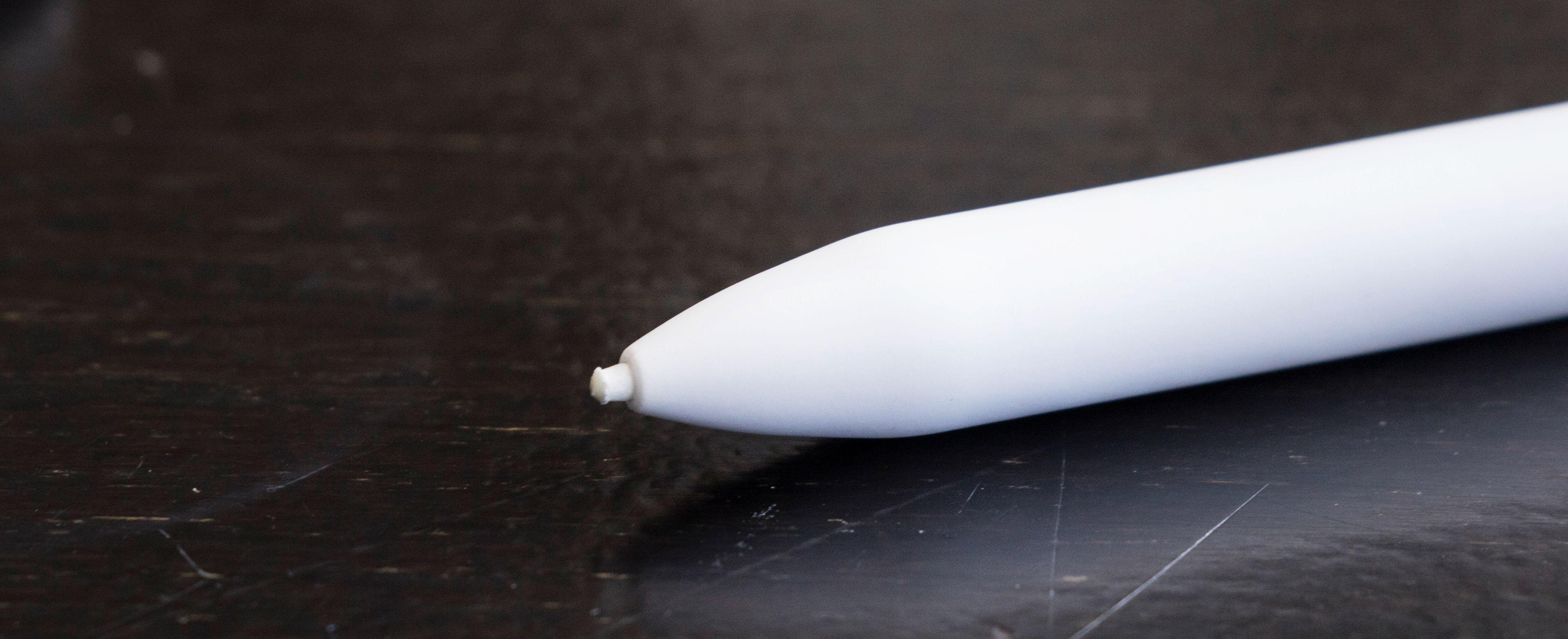 At du må bytte tupp på penna med jevne mellomrom er litt irriterende. Her etter snaue to uker med middels bruk.