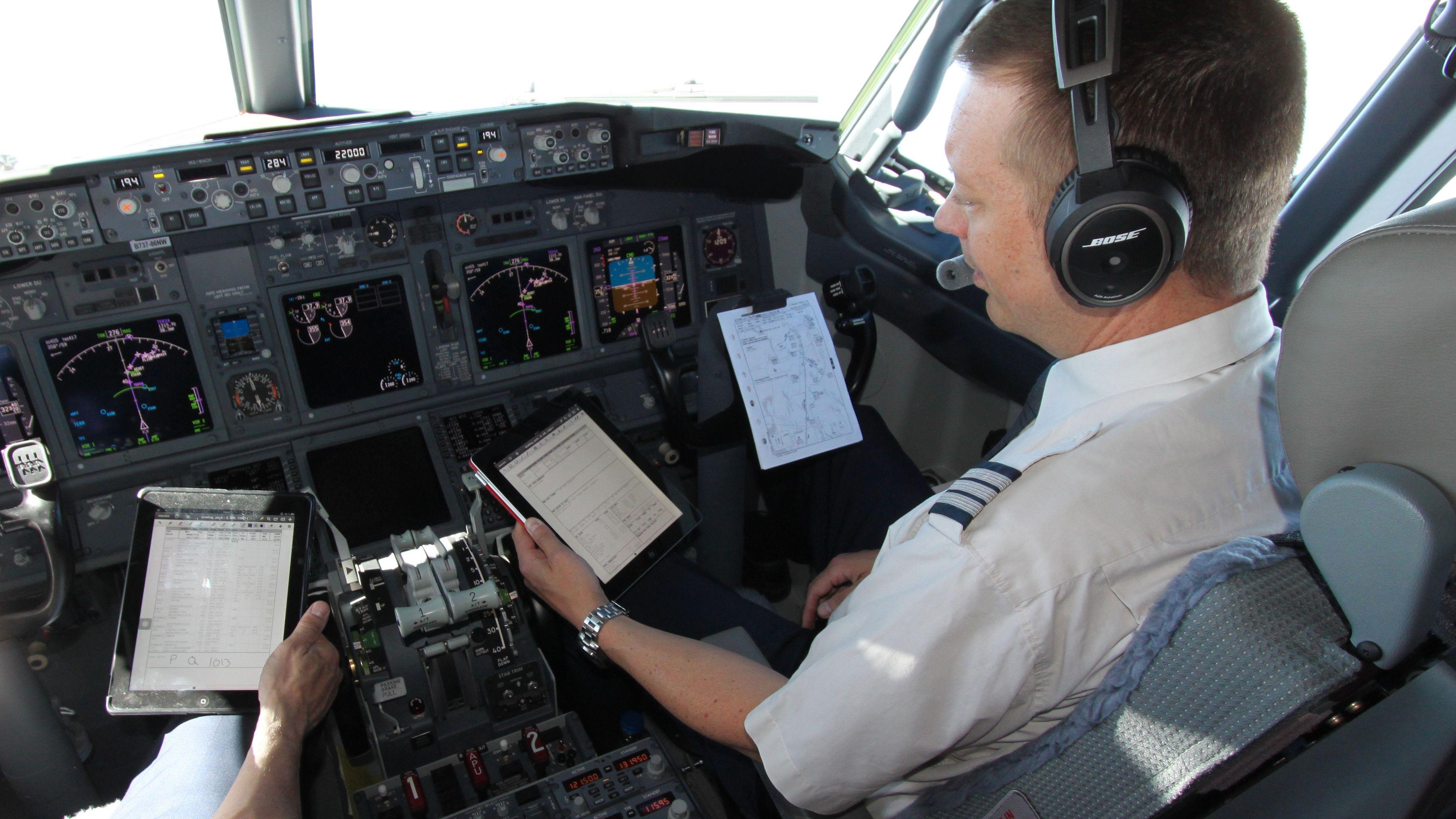 Nå får SAS-pilotene iPad i cockpiten